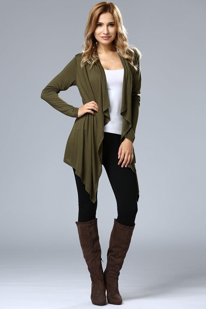 ee69f364d41 Aliexpress.com   Buy Hot Sale Female Cardigan Plus Size Long Tops ...