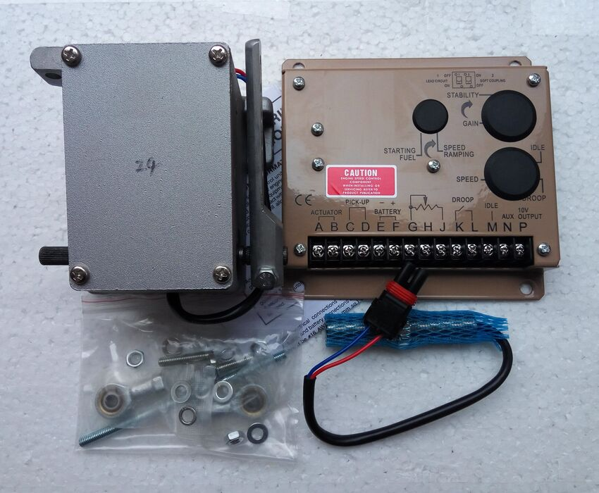 ADC120 12V or ADC120 24V Electronic governor Kit Actuator ADC120 24V or ADC120 12V ESD5500E speed