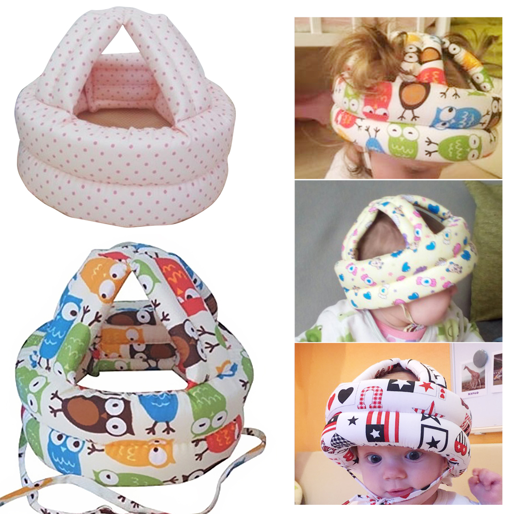 New Baby Safety Learn to Walk Cap Anti-collision Protective Hat Safety Helmet Soft Comfortable Head Security Protection baby защитный детский шлем