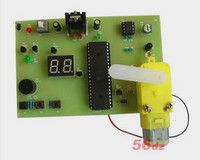 Free Shipping!!! Infrared detection counter kit / electronic product assembly and commissioning (parts)