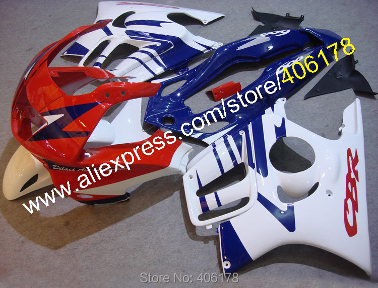 Hot Sales,For Honda CBR 600 F3 fairing 97 98 1997 1998 CBR600F3 CBR 600F3 CBR600 Multi-color fairing kit (Injection molding)