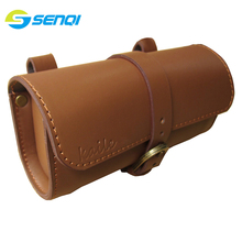 Bicycle Bags Vintage Bicycle Tail Bag Bike Saddle Bag Back Seat Tail Pouch Cycling Equipment Bicycle Accessories bicicleta