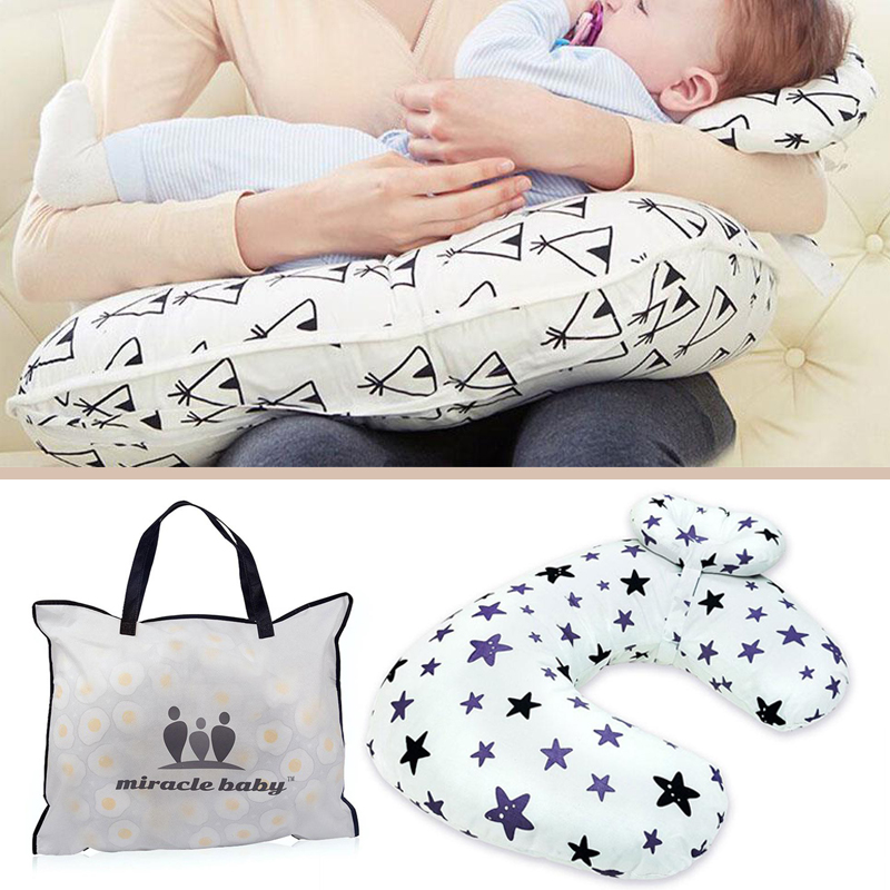 Boppy Baby Support Sofa Feeding Pillow Comfortable One Size Safe U-Type Infant Toy