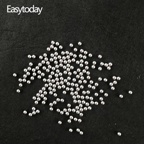 Easytoday Lote 5.5mm Aço Bolas Catapulta Slingshot High-carbono Tiro Catapult Caça Arco Acessórios 1000 Pçs –