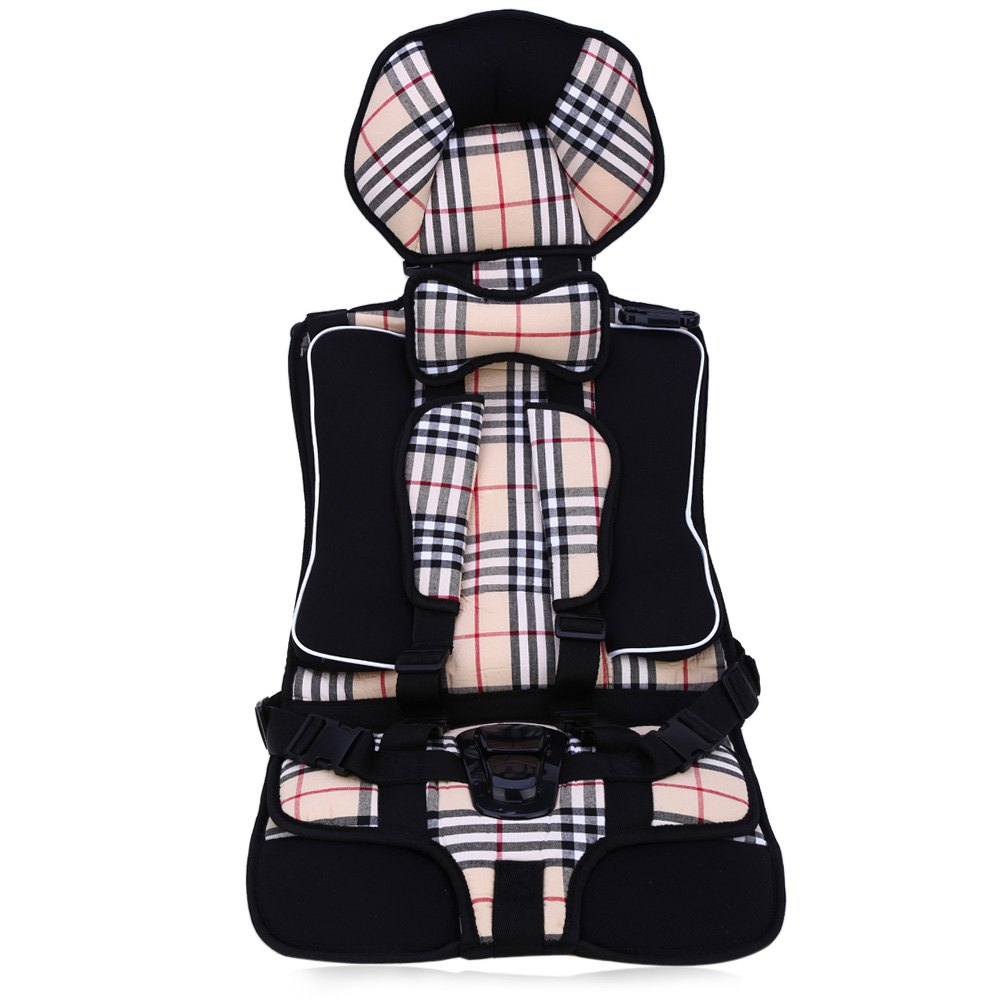 0-4 Years Old Big Baby Car Seat Portable Comfortable Kids Car Protection Infant Safety Seat Practical Baby Cushion 86 x 35.5cm