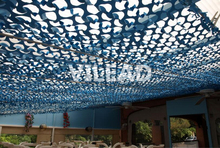 Купить с кэшбэком 2M*5M blue camouflage netting camo Netting for camping paintball game outdoor pergolas balcony tent party decoration car covers