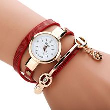 2015 Free Shipping, Luxury Brand Watch Crystal Bling Women Girls Dress Watch Vogue Beauty Bracelets Hours Relogio 8Candy Colors
