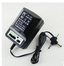 AC220V Ayarlanabilir 1.5 V 3 V 6 V 9 V 12 V 600mA DC güç kaynağı adaptörü Trafo