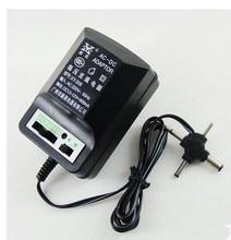AC220V In Verstelbare 1.5 V 3 V 6 V 9 V 12 V 600mA DC Voeding Adapter Transformator