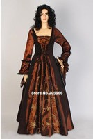 Custom Made To Your Size Deluxe Lady S Quality Medieval Renaissance Taffeta Costume Halloween Costume