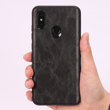 Phone Case For Xiaomi Mi 8 A1 A2 Lite Mix 2S 3 Max  Retro Oil wax skin leather Soft TPU Edge Cover  Redmi Note 5 6 Pro 6A bonvan phone case for xiaomi mi a2 lite case cloth deer cover for xiomi mi 8 se explorer max 3 mix 2s case for redmi 6 6a pro
