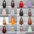 MCOSER 80 СМ ''28 Длинные Свободные Вьющиеся Лолита женская 16 цвет Косплей Партия Синтетических Волос Мода Аниме Парик