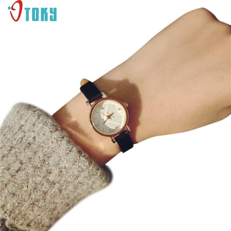 Excellent Quality OTOKY Watch Women Watches Bracelet Clock 2017 Fashion Design Quartz Watch Elegent Slim Brand Watches Relogio