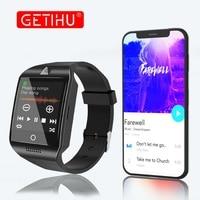 GETIHU Smart Watch Men For Apple Android Digital Camera Smartwatch DZ09 Q18 Bluetooth Phone For IPhone