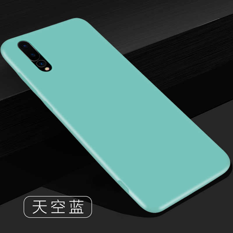 Ultra Thin Soft Phone Case For Huawei P20 Lite P30 Pro Luxury Silicone Slim Black Cover For Huawei P20 Pro P30 Lite