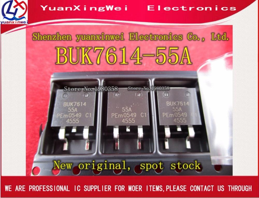 1pcs BUK7614-55A BUK7614 BUK7614-55 TO-263
