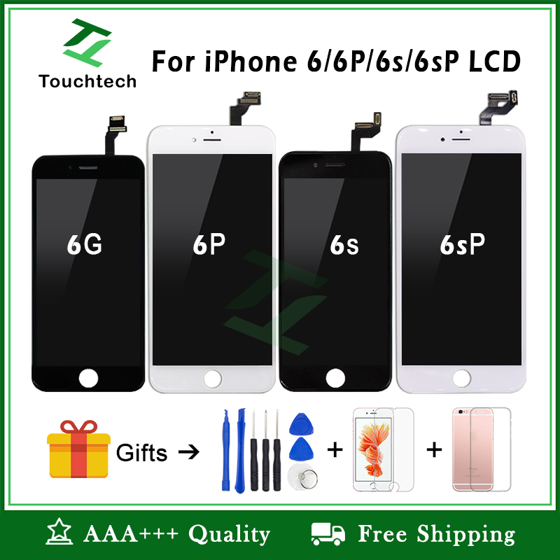 official photos 8c444 d3f77 White&Black 100% OEM Screen For IPhone 6 6 Plus 6s Plus LCD Screen  Replacement Display With 3D Touch Screen Digitizer Assembly (SPECIAL PRICE  June ...