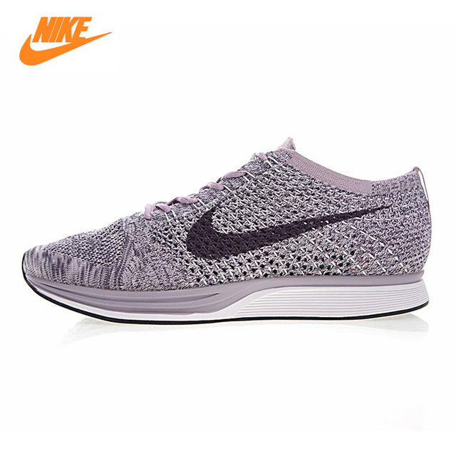 size 40 26c95 12cc0 Nike Flyknit Racer Men s Running Shoes,Outdoor Sneakers Shoes, Purple,  Non-slip Breathable Lightweight 526628-500