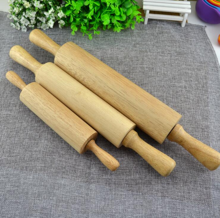 high quality wooden rolling pin wood handle rolling pin bakeware dessert kitchen tools cake. Black Bedroom Furniture Sets. Home Design Ideas