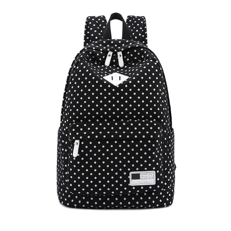 High SchoolBag Students Shoulder Backpack Canvas Female Korean College Boys Girls SchoolBags For Teenagers Rucksack 7542624