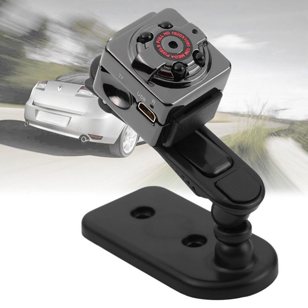 NI5L SQ8 Mini DV Camera 1080P Full HD Car Sports IR Night Vision DVR Video Recor 1920 x 1080P support 32GB TF card f10 gopro mini sports camera video recorder full hd 1920 1080p 30fps waterproof 30m camera with1 5 inch high definition screen