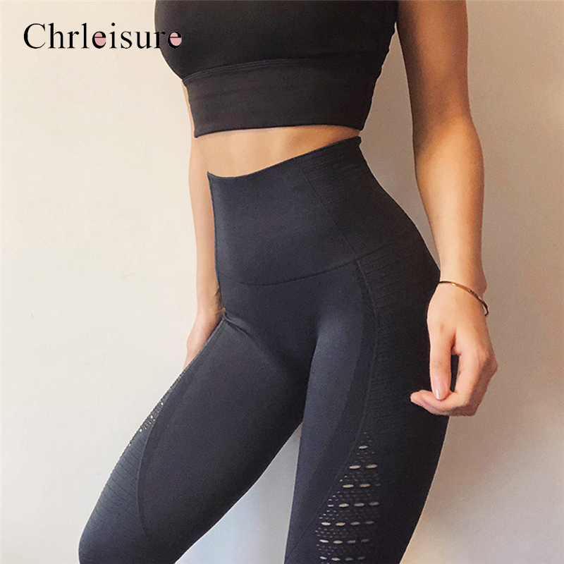 Women Fitness Leggings Femninia High Waist Workout Legging For Women Hollow Leggings Mujer Casual Jeggings Seamless 5Color