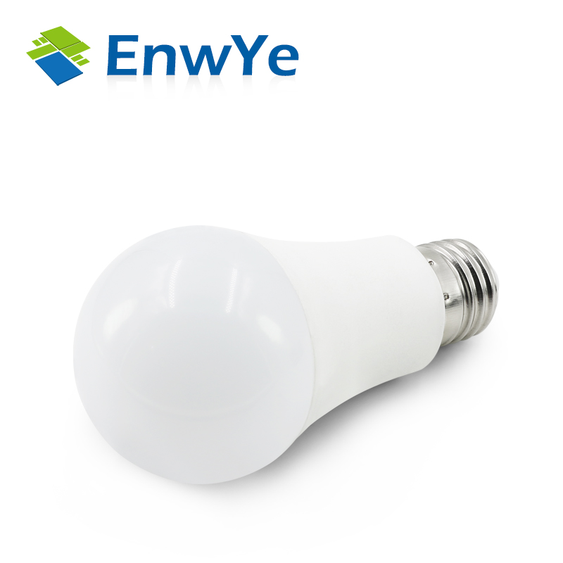 EnwYe 10pcs LED lamp E27 IC 9W 12W 220V 230V 240V LED Lights Led Bulb bulb light lighting high brighness enwye e14 led candle energy crystal lamp saving lamp light bulb home lighting decoration led lamp 5w 7w 220v 230v 240v smd2835