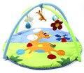 Детская Складная Животных Дизайн Младенческая Baby Играть Мат 90 см * 50 см Игры Тренажерный Зал, Ползать Коврик PS40-4