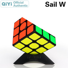 QiYi Sail W 3x3x3 Magic Cube MoFangGe 3x3 Cubo Magico Professional Neo Speed Puzzle Antistress Fidget Toys For Children