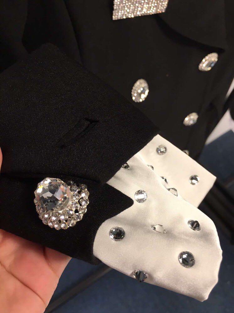 Automne sky Manches Femmes Double Long Femme Mode Bureau Fit Pour Nouvelle Blue Boutonnage Printemps Black 2019 Blazer À Slim Longues w1PEUU