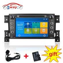 Factory price 7″ car radio for Suzuki Grand Vitara Nomade car dvd player with car electronics,bluetooth,radio,Free 8GB map card