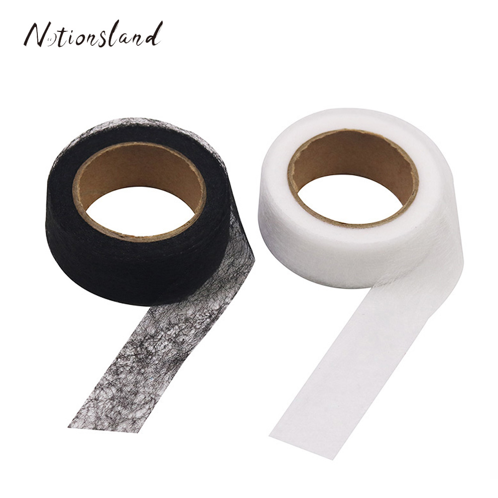 10m*20mm Iron On Hemming Tapes Wonder Web Fusible Bonding Lace Trim Sewing Garment Accessories