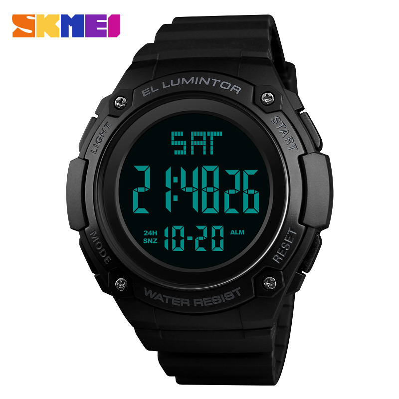 Skmei Men Digital Watch Sport Outdoor Military Waterpoof Watches Chronograph Alarm Top Brand Luxury For Male Man Clock