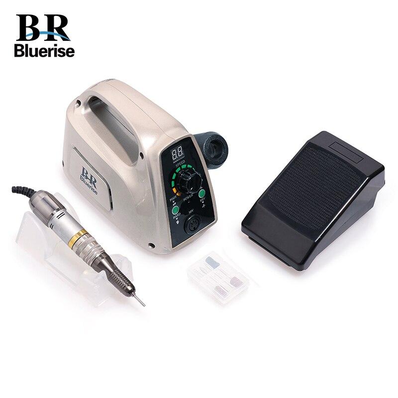 Máquina de la manicura pedicura taladro eléctrico del clavo 35000 RPM profesional Nail Art equipo accesorios Set salón de belleza uñas herramientas