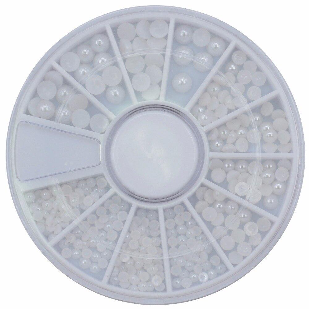 Schönheit & Gesundheit Kenntnisreich Neue 2019 Gemischt Größe Mode Weiß/beige Half Round Diy Harz Flatback Nail Art Perle Für Nagel Dekoration Perle Nails Art & Werkzeuge zh73