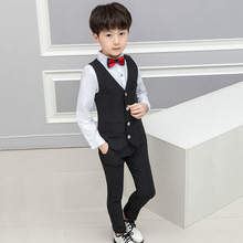 2019 spring childrens clothes new boys suit stripe sets children fashion kids clothing  ALI 281
