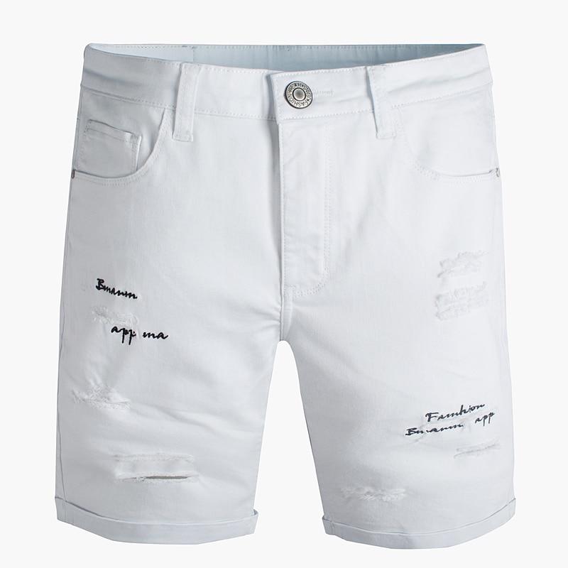 Popular Men White Ripped Shorts-Buy Cheap Men White Ripped Shorts ...