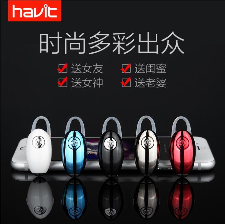 HAVIT i15Ms Bluetooth V4 1 Headphones True Wireless Unilateral Invisible Mini Ultra Small Earphones Over The Ear Voice Call in Bluetooth Earphones Headphones from Consumer Electronics