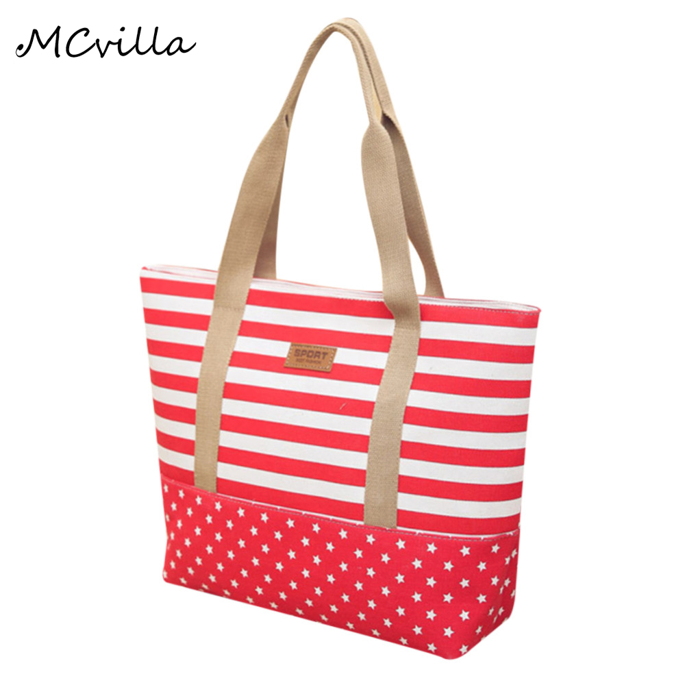 Fashion Women Beach Canvas Bag Messenger Tote Bags Female Handbags Ladies Large Shoulder Bag Totes Casual Bolsa Shopping Bags ocardian canvas shopper shoulder bag striped beach bag large capacity tote women ladies casual shopping handbags bolsa 23 2017