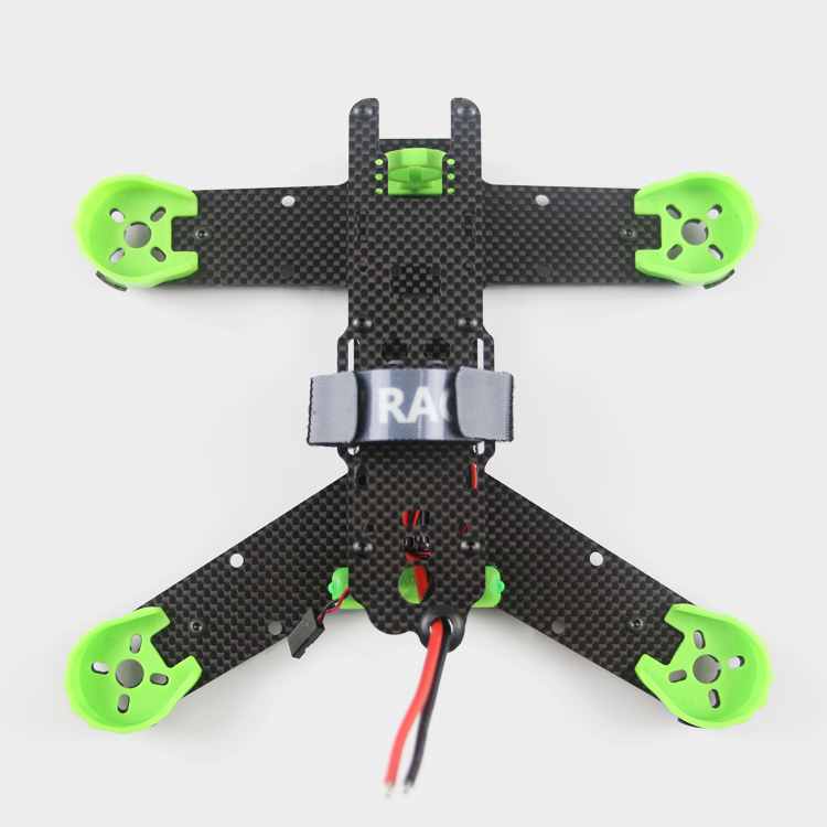 купить KING KONG 210 / 210GT FPV cross racing mini drone quadcopter pure carbon fiber frame kit X and K models недорого