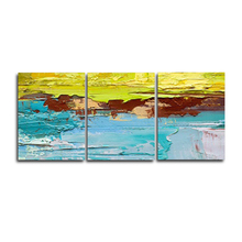 Laeacco Abstract 3 Panel Graffiti Paint On Canvas Painting Watercolor Posters and Prints Wall Art Living Room Home Decoration