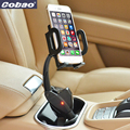 Universal USB car phone holder with charger Cobao brand charging holder for most smartphone Iphone 5s 6 6s plus Galaxy s4 s5 s6