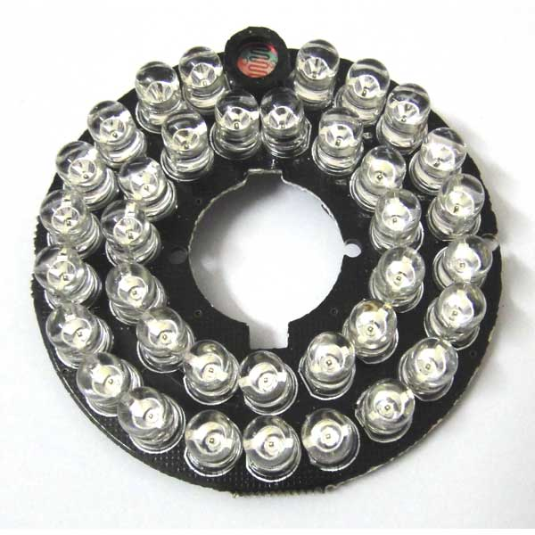 2pcs 36LEDs Security Camera <font><b>IR</b></font> Infrared <font><b>Illuminator</b></font> Board 90 Degrees bulbs 850nm 36 <font><b>Leds</b></font> for cctv cameras
