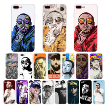 Mac miller Rapper soft mobile phone cases for Apple iphone xs max 5s 5 x xr 7 6 6s 8 plus se cover silicone case TPU shell Coque цена и фото