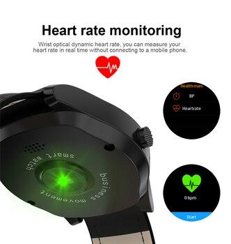 JRGK Più Nuovo DT19 Bluetooth Astuto Della Vigilanza Degli Uomini Orologio Da Polso In Metallo Quadrante Chiamata Frequenza Cardiaca Pressione Sanguigna Sport Fitness Tracker SmartWatch