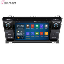 Top  Quad Core Android 5.1 Car DVD Stereo For TOYOTA Corolla 2013-  With Wifi Bluetooth GPS Free Map16 GB Flash