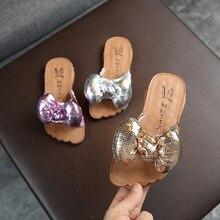 MHYONS/ летние модные пляжные сандалии для детей; летние шлепанцы для девочек