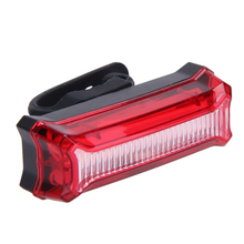 USB Rechargeable Bicycle Bike Front Rear LED Light Waterproof MTB Road Bike Warning Tail Lights with Mount Gel Strap EA14