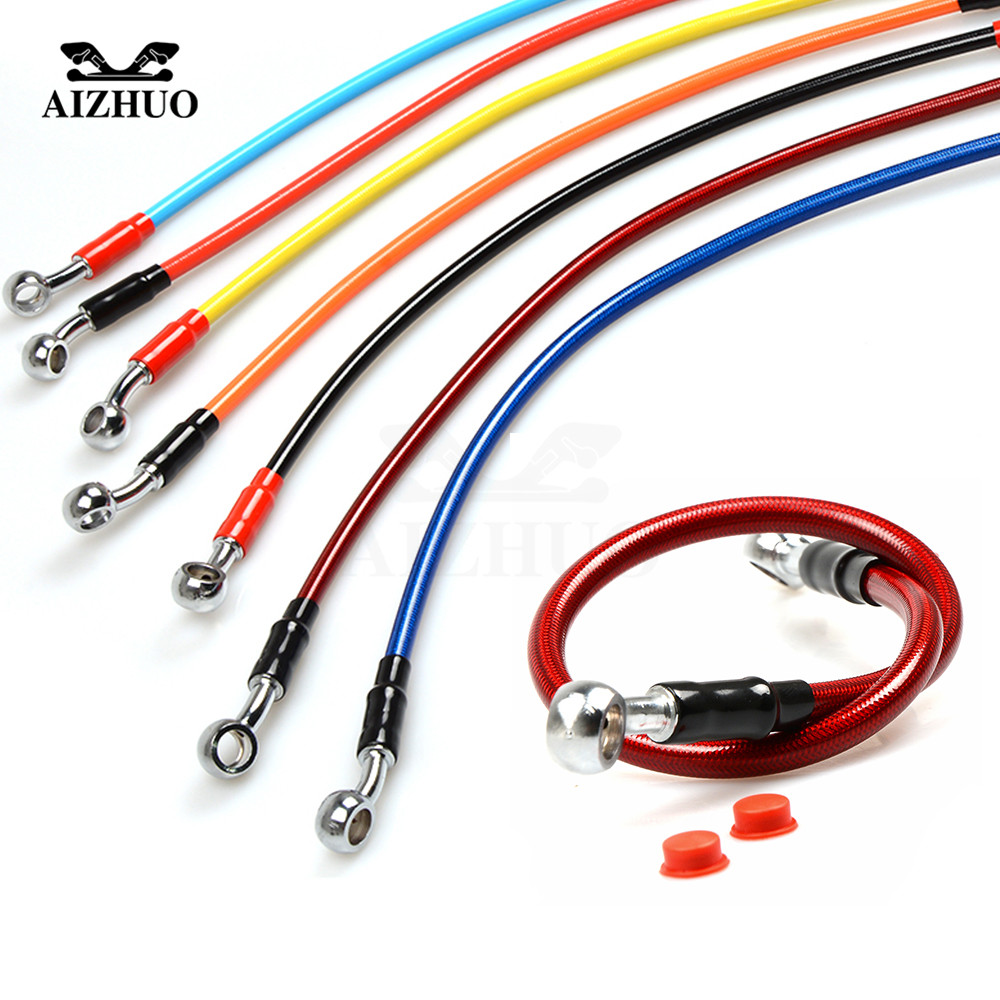 motorcycle universal brake hose clutch or brake hydraulic hose line for yamaha tmax 530 500 yzf r1 xjr1300 fjr 1300 r6s mt 09 [ 1000 x 1000 Pixel ]
