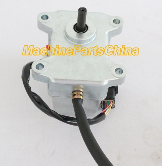 SH280-1/-2 A1 A2 stepping motor KHR1713 Excavator throttle motor 9 pins hyundai excavator round throttle sensor accel actuator throttle position sensor hyundai spare parts